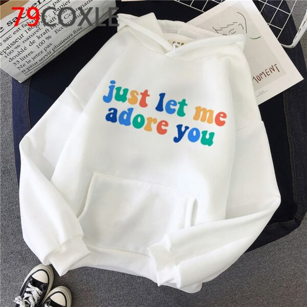 Harry Styles ''Just Let Me Adore You'' New hoodies Men/Women