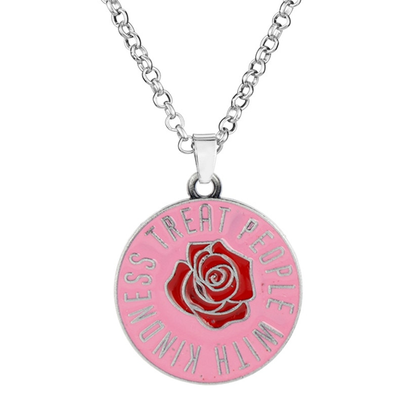 Harry-style Treat People With Kindness Necklace Men/Women