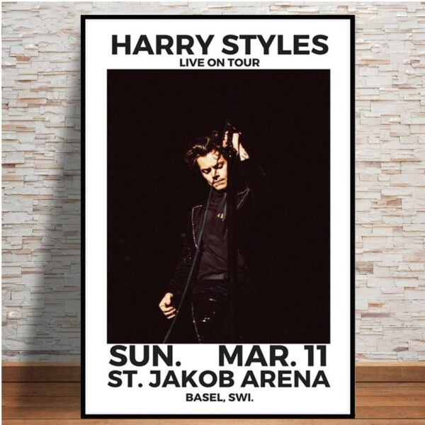 Harry Styles Live On Tour Music Star Hot Poster