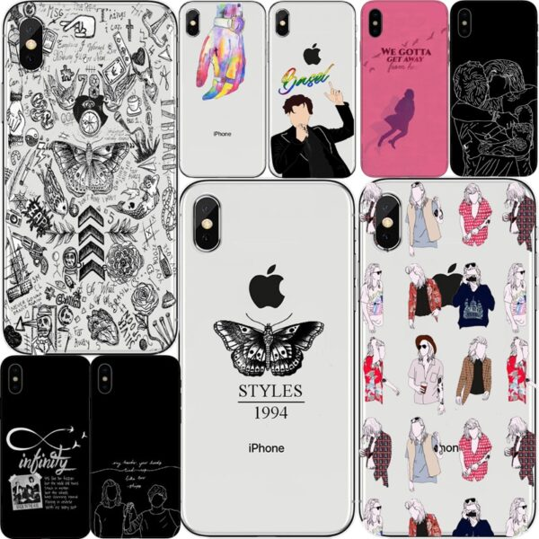 Harry Styles Butterfly Tattoo One Direction Phone Cases