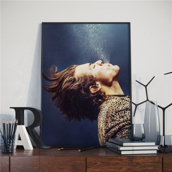 Harry Style Posters Art Canvas Painting Nordic Posters