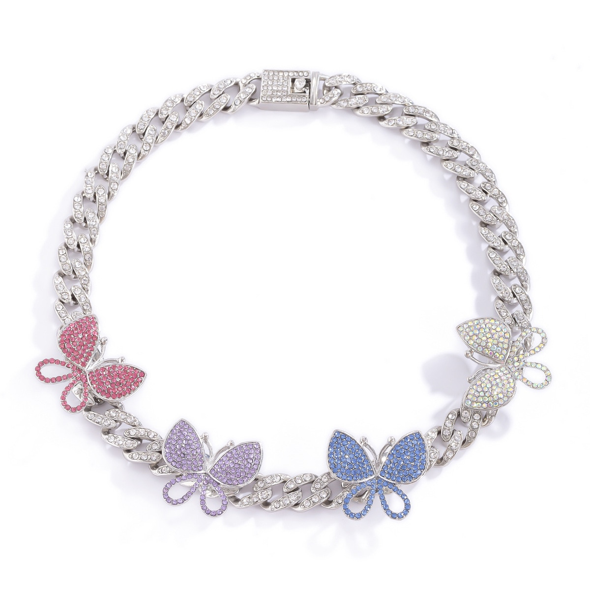 Harry Style Butterfly Necklace Jewelry Neck Chain Women's