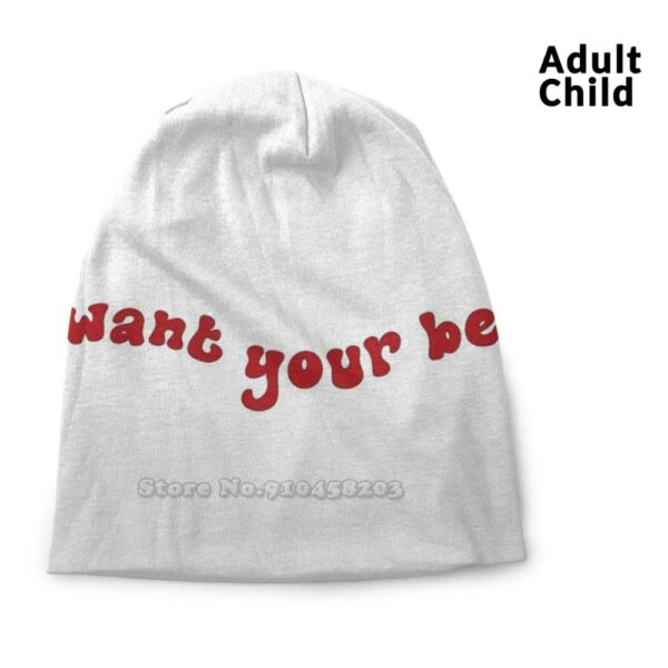 Harry Styles I Want Your Belly Personality Hats Men/Women
