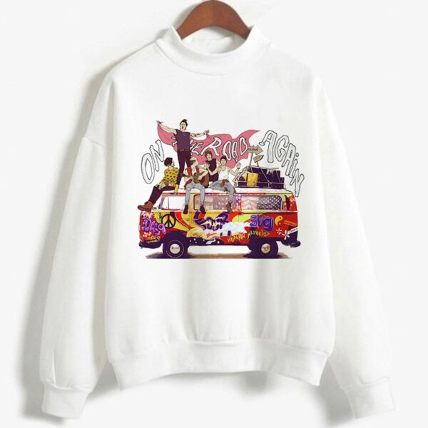 Harry Styles ''On the Road Again Tour'' Oversized hoodies Men/Women