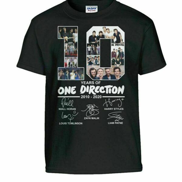 Harry Styles 10 Year Of One Direction Shirt
