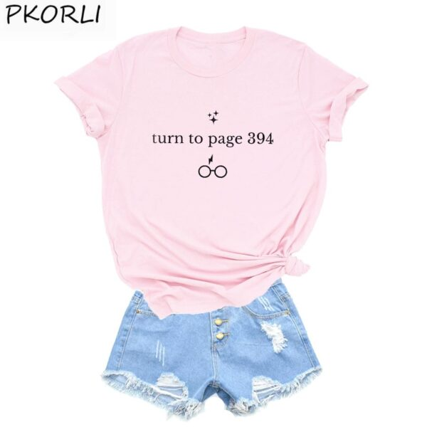 Harry Style Turn To Page 394 T-Shirt